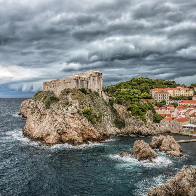 """""""Dubrovnik Coastline"""" stock image"""