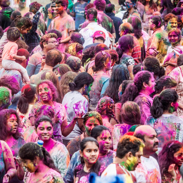 """Festival of Colors"" stock image"