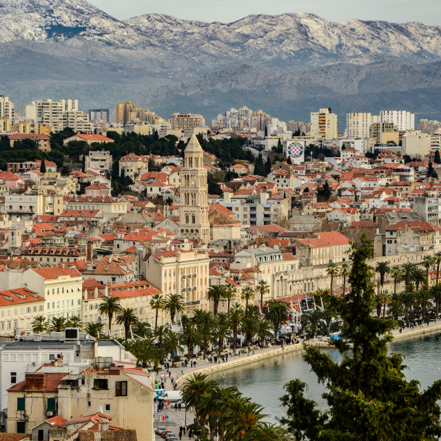 """Split, Croatia"" stock image"
