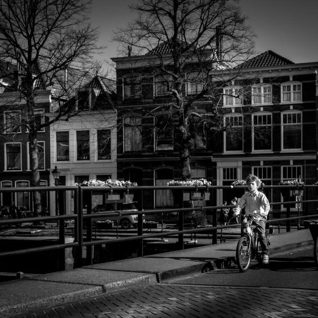 """Holland Do Bikes"" stock image"