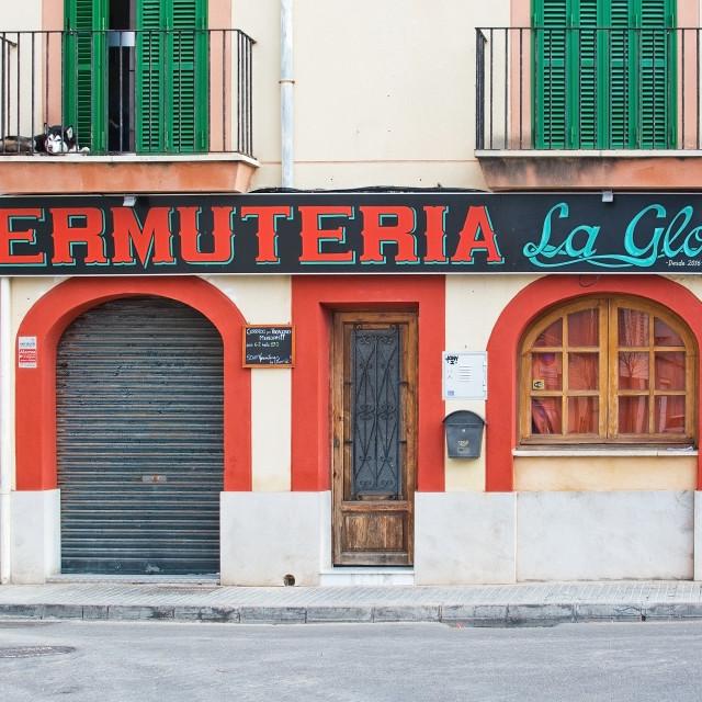 """Vermuteria La Gloria"" stock image"