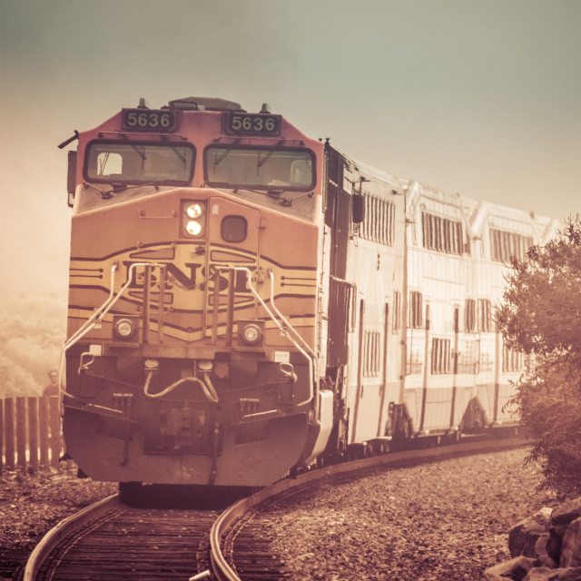 """Train Engine"" stock image"
