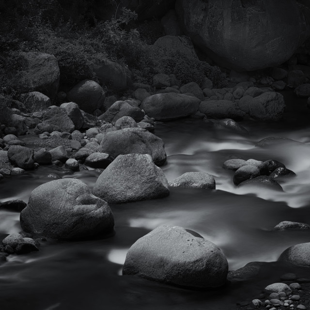 """Beautiful Boulders - Study 3"" stock image"