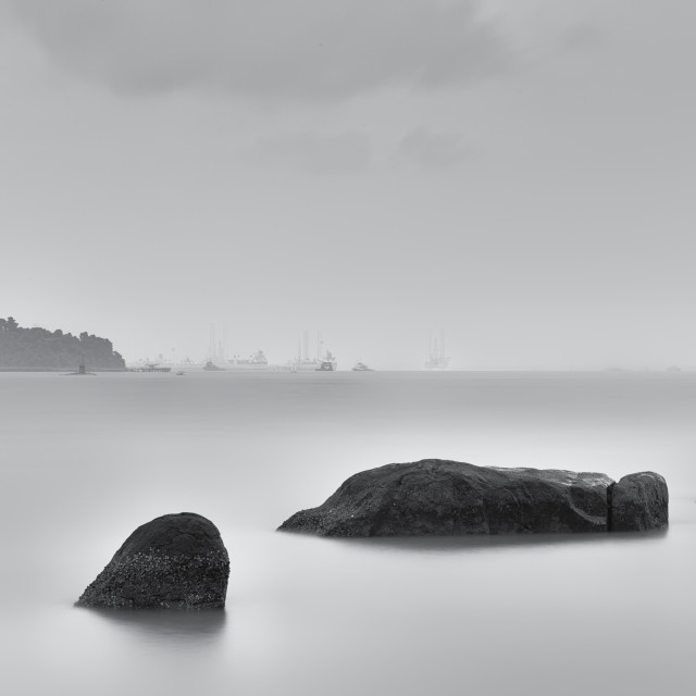 """Beautiful Boulders - Study 14"" stock image"
