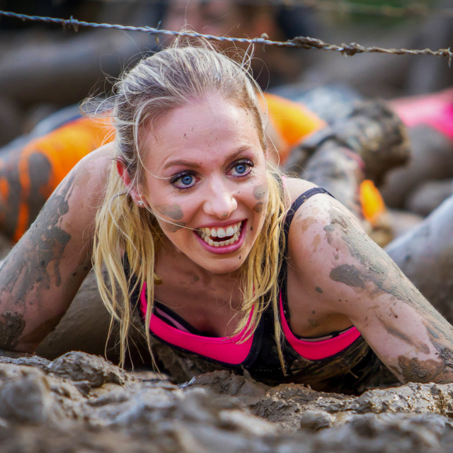 """Mud girl"" stock image"