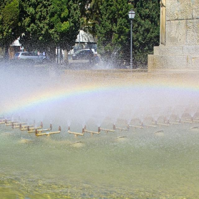 """Feixina park fountain"" stock image"