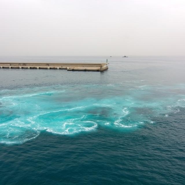 """Mediterranean ferry crossing"" stock image"