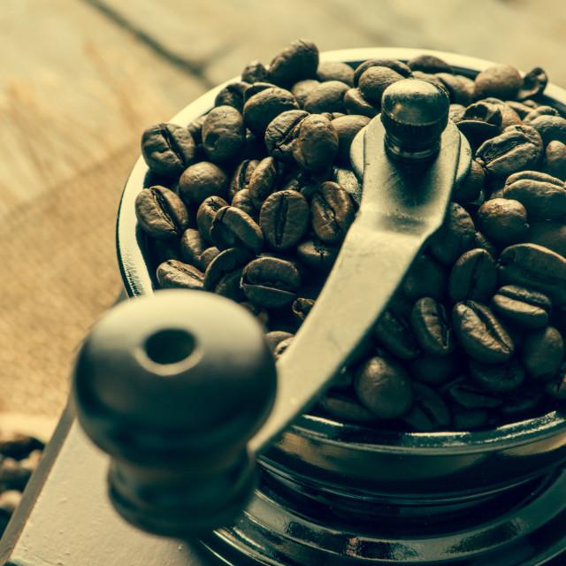 """Coffee grinder"" stock image"