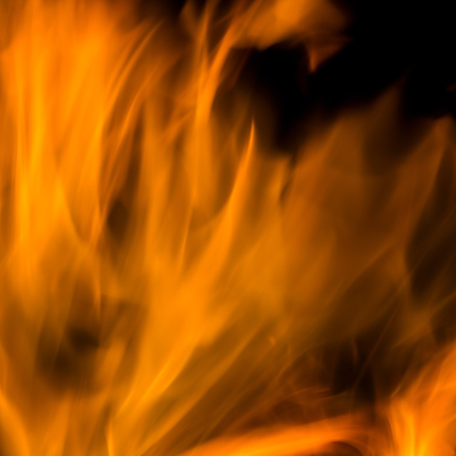 """Flame of fire texture"" stock image"