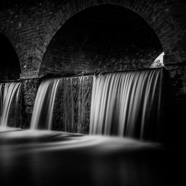 """Water Under the Bridge"" stock image"
