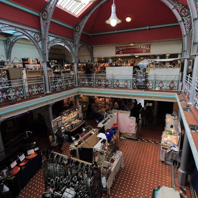 """Camden Lock Market, North London, England, UK"" stock image"