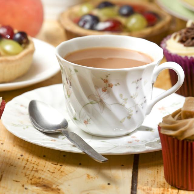 """""""tea and treats"""" stock image"""