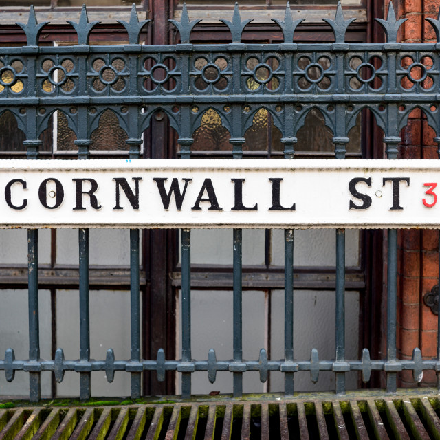 """Birmingham street name"" stock image"
