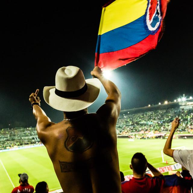"""""""El Clásico de Colombia"""" stock image"""