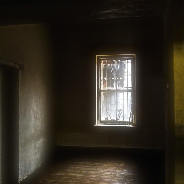 """""""The empty room"""" stock image"""