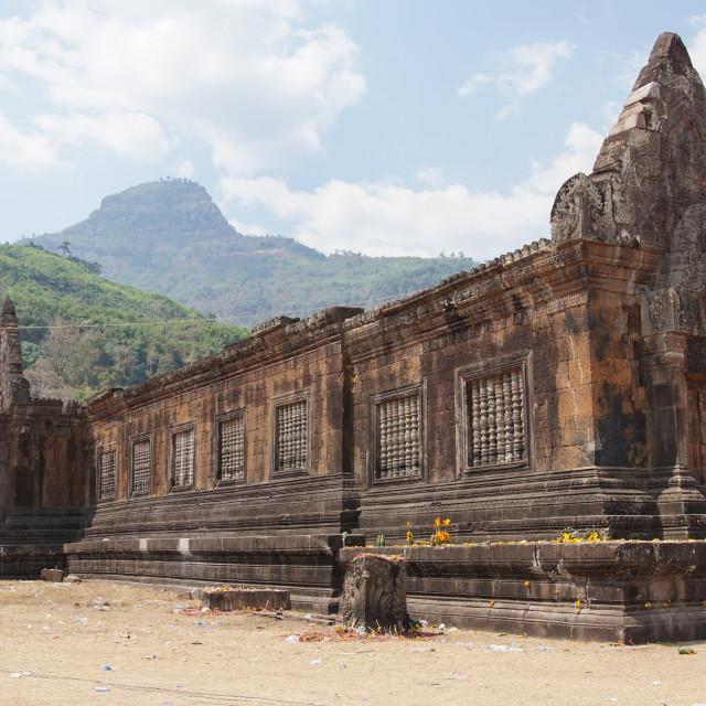 """Wat Phu Champasak, Laos, Asia"" stock image"