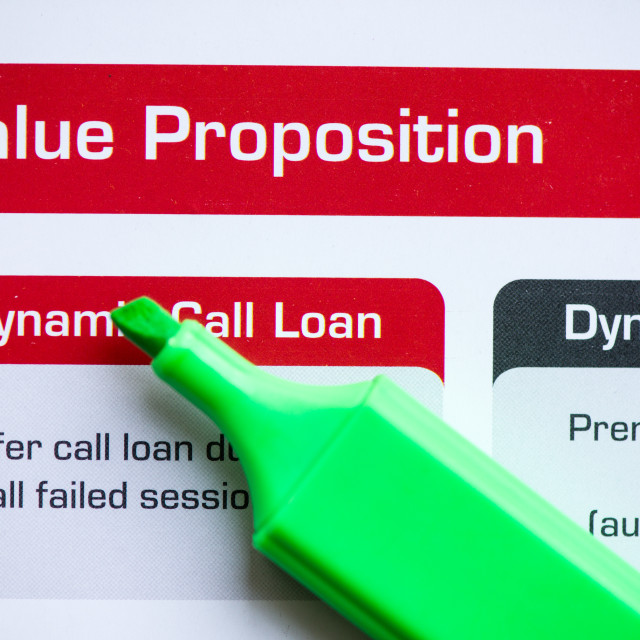 """value proposition"" stock image"