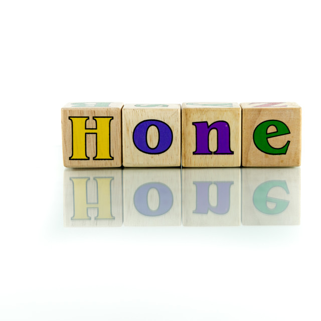 """hone"" stock image"