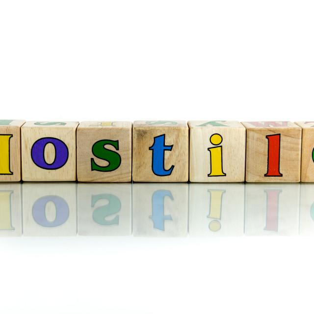 """""""hostile"""" stock image"""