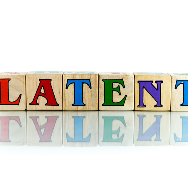 """latent"" stock image"