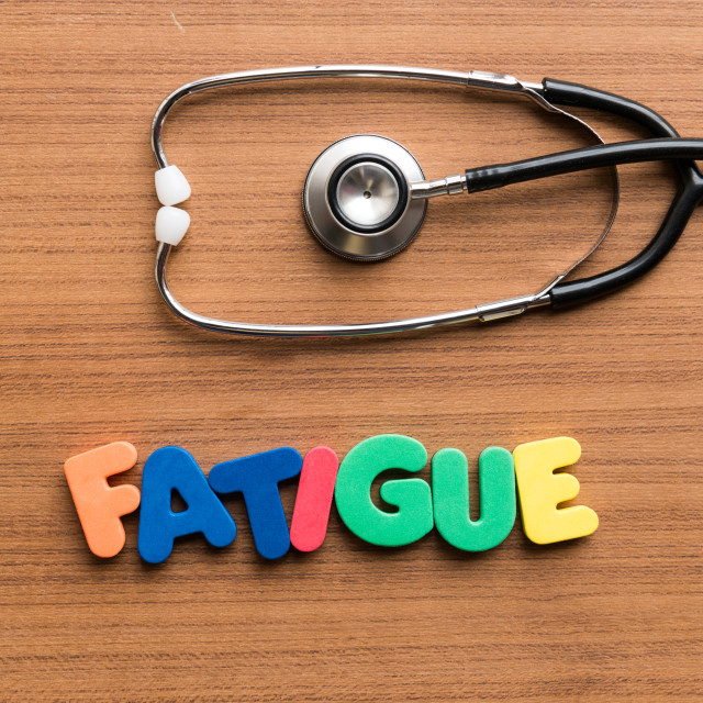 """""""fatigue colorful word"""" stock image"""