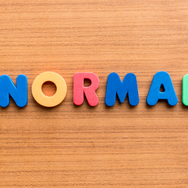 """normal colorful word"" stock image"