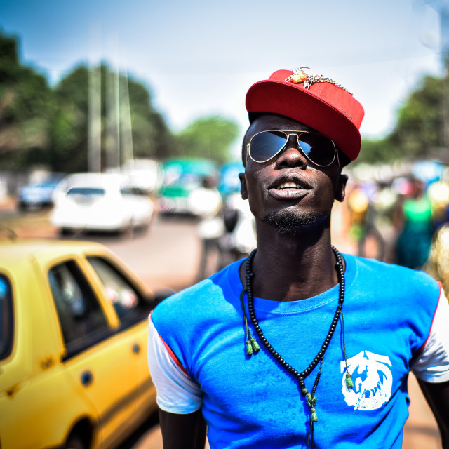 """""""Swagg Life style in Bangui"""" stock image"""