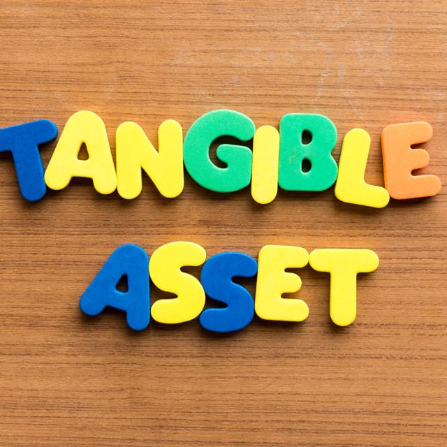 """tangible asset"" stock image"