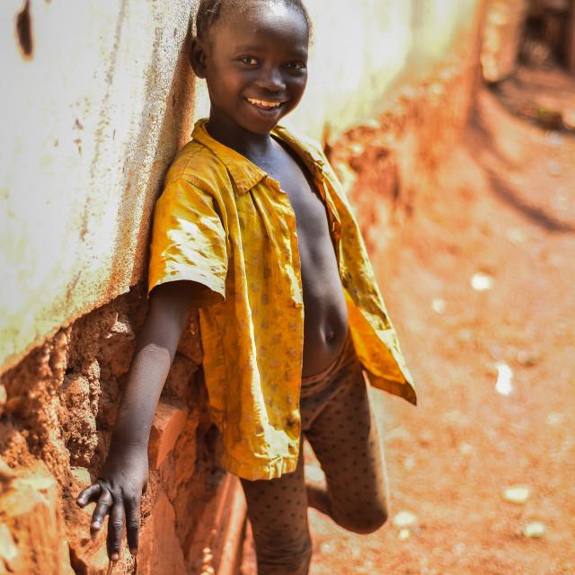 """Africa future is mine"" stock image"