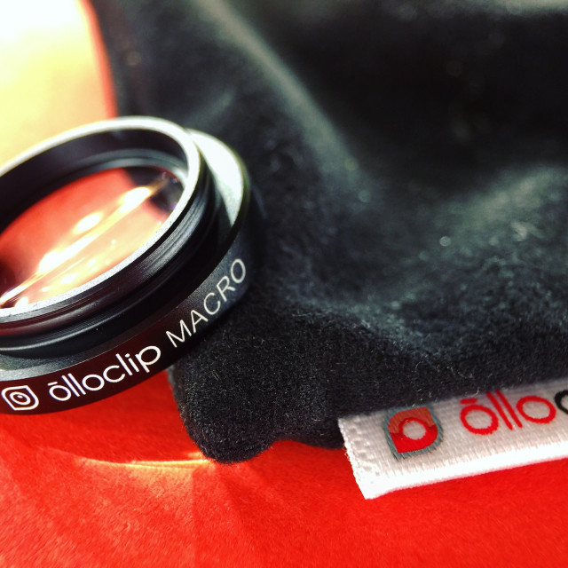 """Macro lens for mobile photography"" stock image"