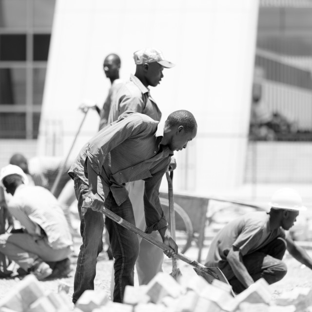 """Work ""#CelebrateAfrica"" stock image"