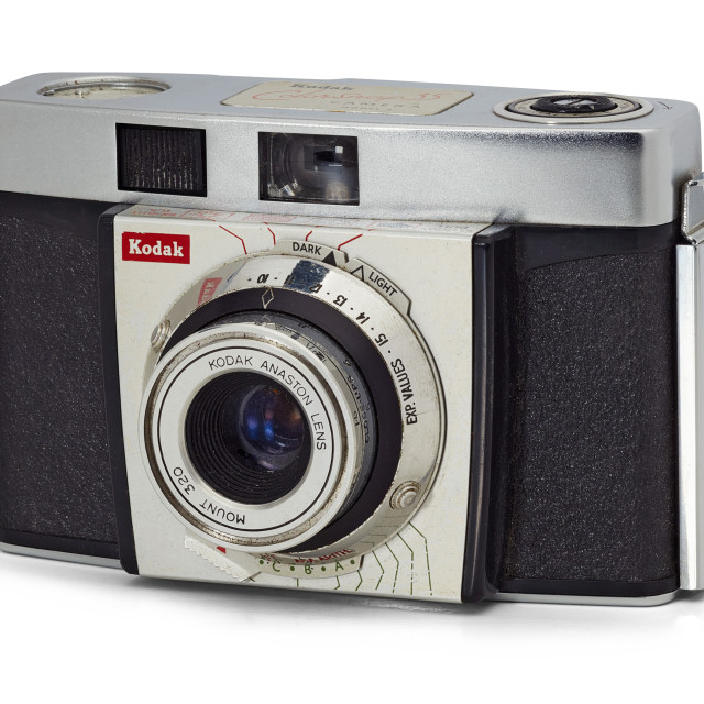 """Kodak Colorsnap 35 camera model 2"" stock image"