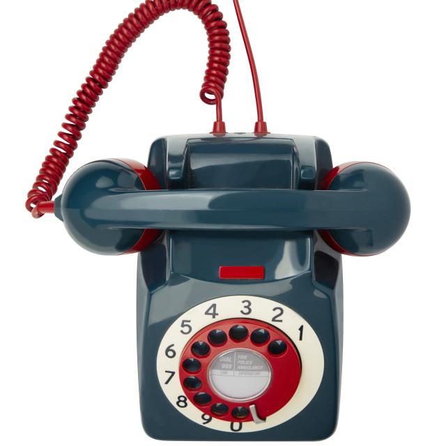 """GPO standard dial telephone"" stock image"