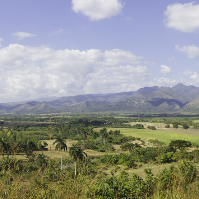 """""""Valle de los Ingenios"""" stock image"""