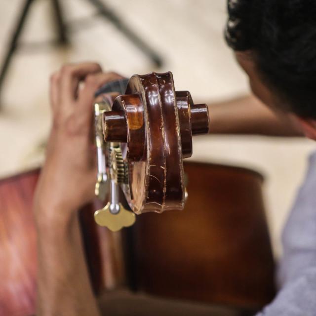"""Playing Jazz"" stock image"