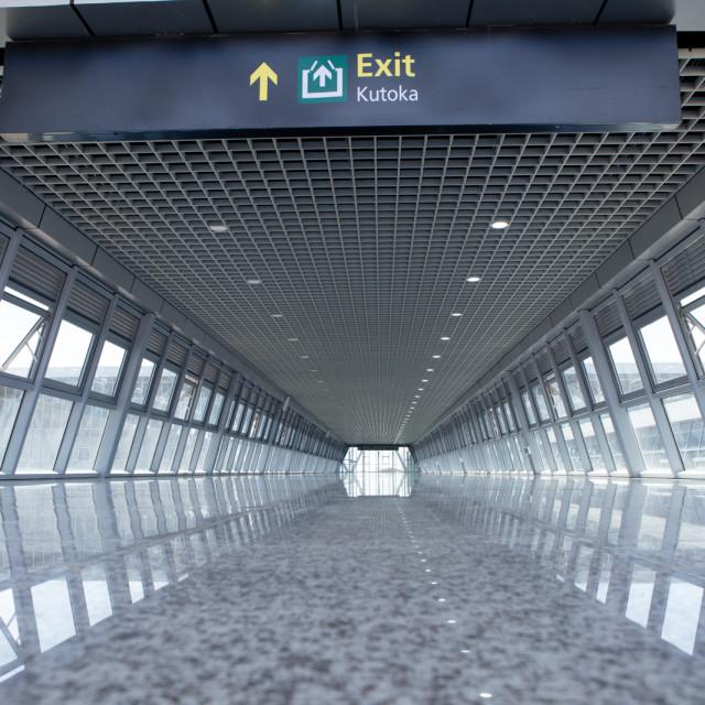 """Exit"" stock image"