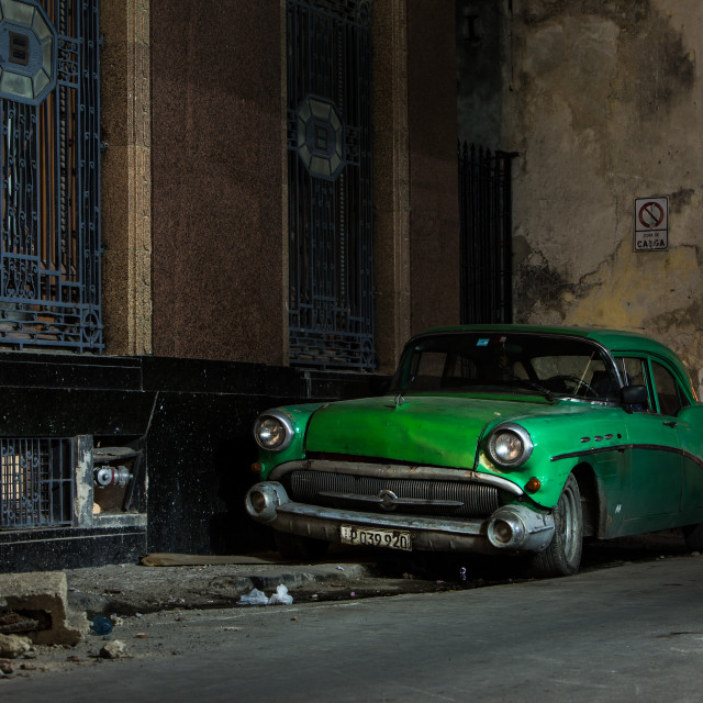 """Cuban Car"" stock image"