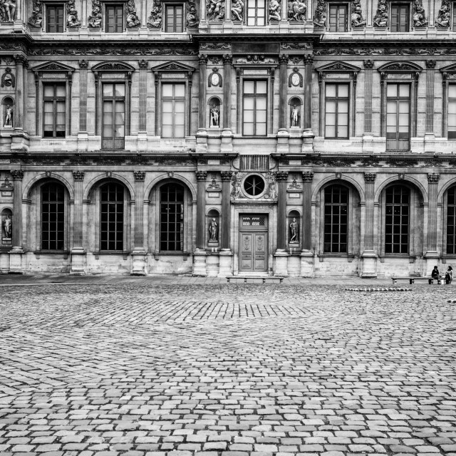 """The Louvre Museum"" stock image"