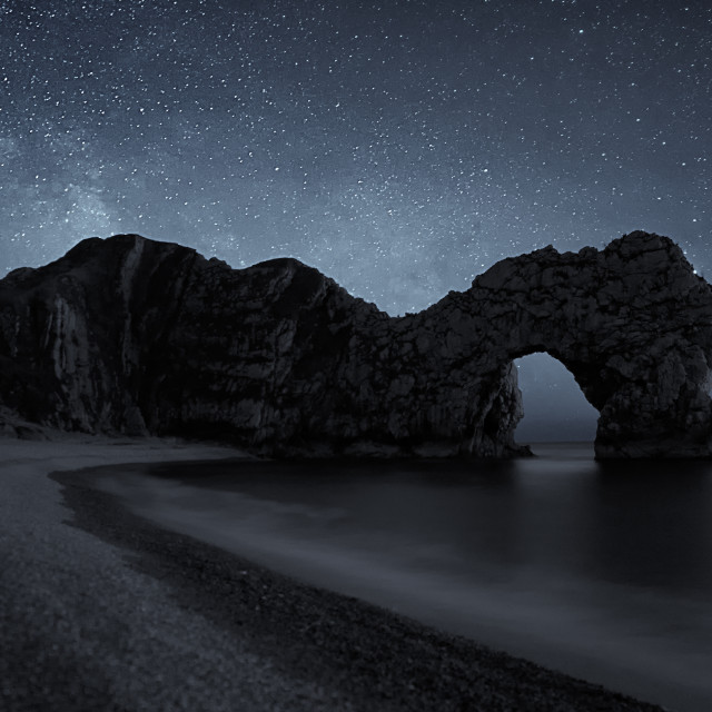 """Durdle Door in selenium"" stock image"