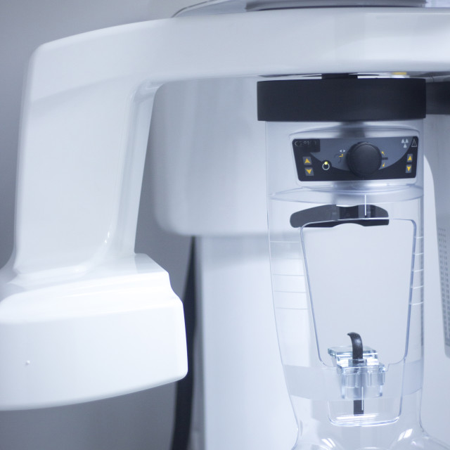 """Dentist's x-ray equipment"" stock image"