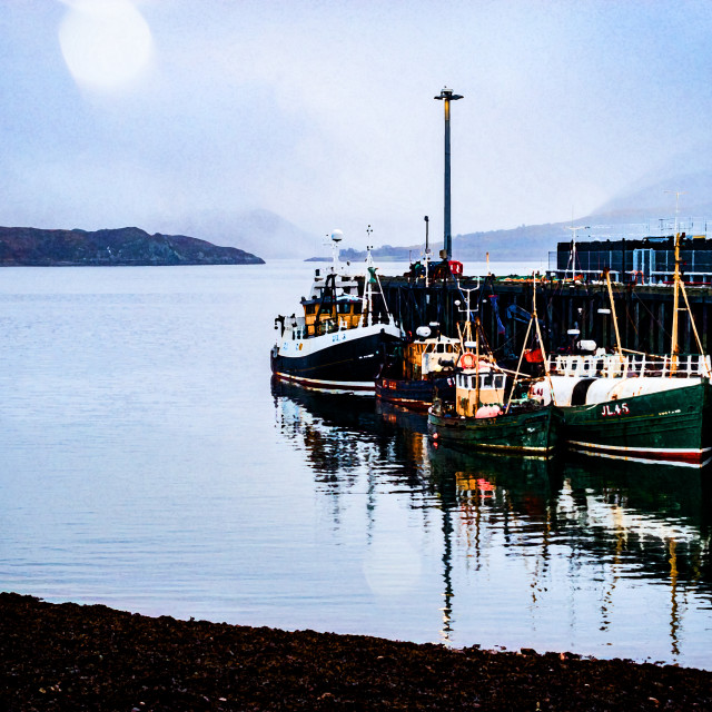 """Ullapool Berth"" stock image"