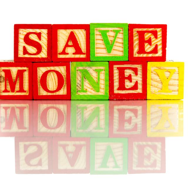 """save money"" stock image"