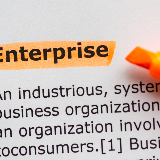 """enterprise"" stock image"