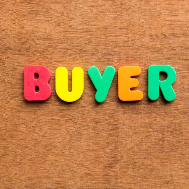 """buyer"" stock image"