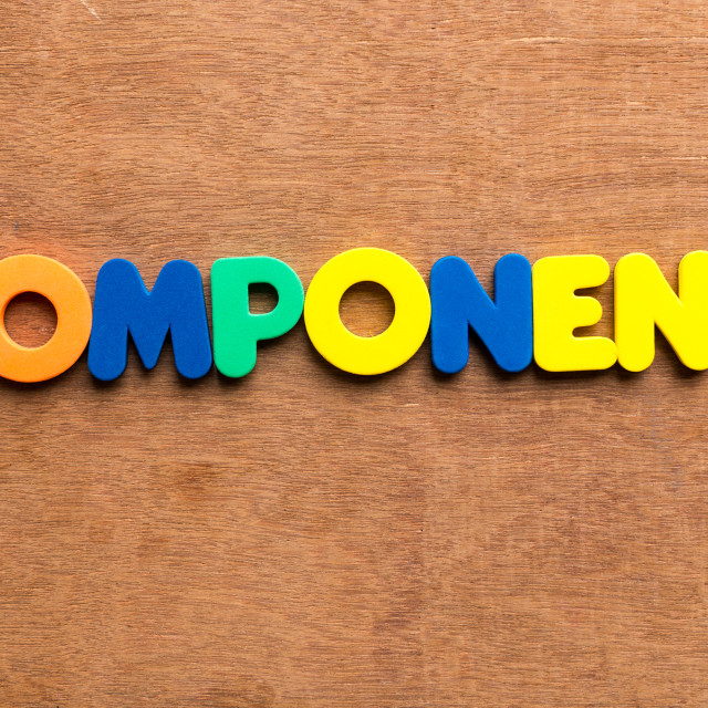 """""""component"""" stock image"""