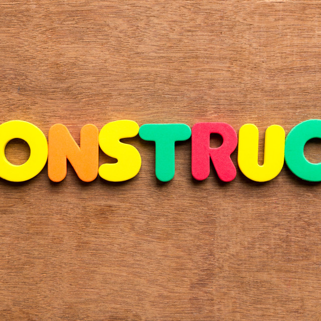 """""""construct"""" stock image"""