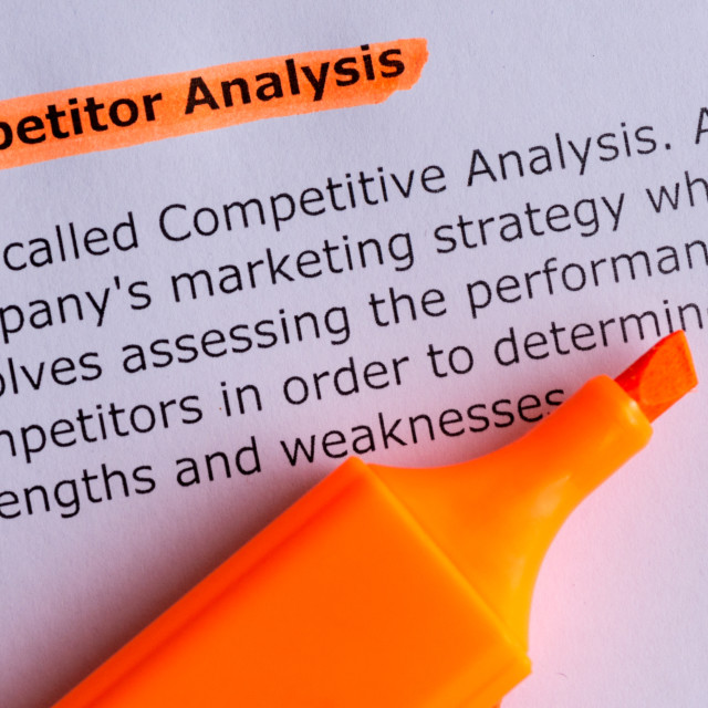 """competitior analysis"" stock image"