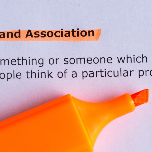 """brand association"" stock image"
