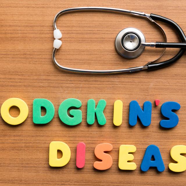 """hodgkin's disease"" stock image"