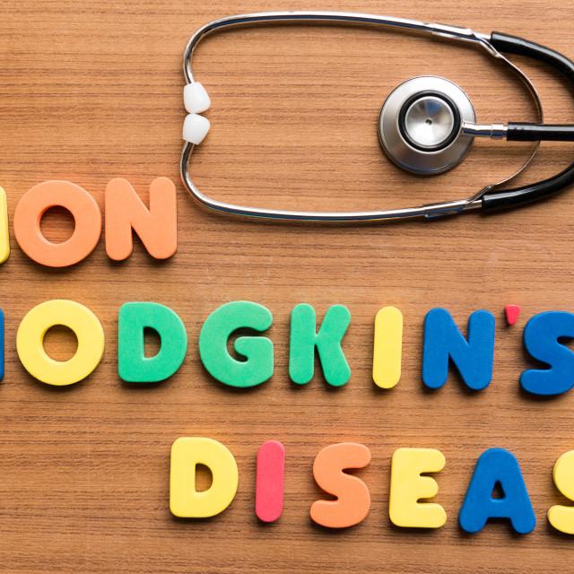 """""""non hodgkin's disease"""" stock image"""
